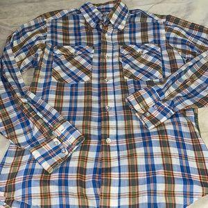 Vintage Levi's White Tag Western Style Shirt